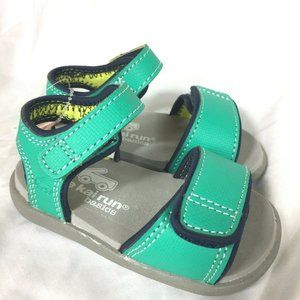 See Kai Run Sandals Baby Toddler Size 4 Green NEW